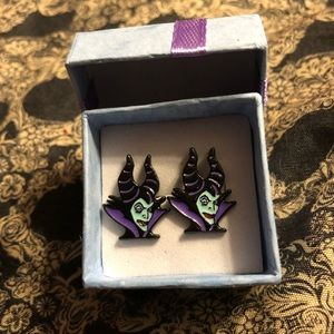 Maleficent earrings